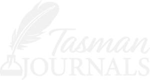 Tasman Journals Logo White