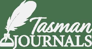 Tasman Journals Logo White